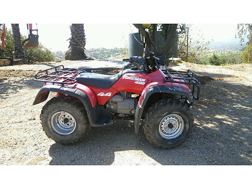 1995 HONDA FOREMAN 400 4X4 QUAD good tires runs good new parts se habla espanol 2500 obo