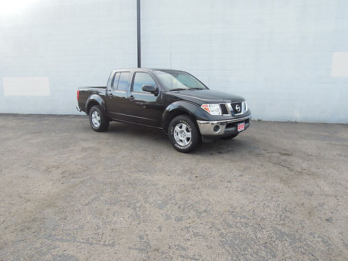 2006 NISSAN FRONTIER CREW CAB SE 441856 auto V6 all power AC CD bedliner