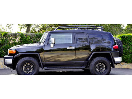 2007 TOYOTA FJ CRUISER 4WD 6 spd manual super clean smell likes new 40K orig mi all pwr car c