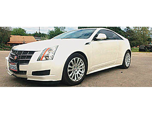 2011 CADILLAC CTS - 36L Coupe 61K miles champagne color xlnt cond CarFax available Trust sale