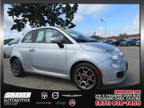 2012 FIAT 500 SPORT - sporty and fun Excellent condition great on gas call now 113783 8000