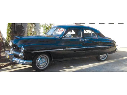 1949 MERCURY SEDAN 4DR 90 stock 2500 miles on rblt eng suicide doors 3 spd manual  overdrive