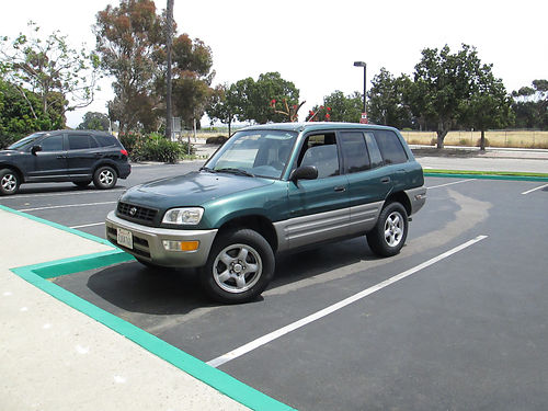 1998 TOYOTA RAV4 L 5 spd manual 4 cyl 145K mi pw AC CD reg to 2018 smogged new brakes belt
