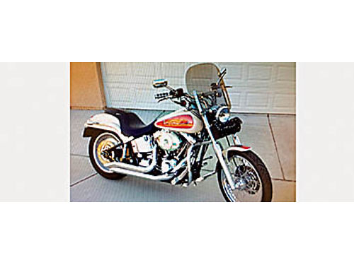 2001 HARLEY-DAVIDSON Softail Deuce great condition low mileage asking 7200 obo 805-550-4094