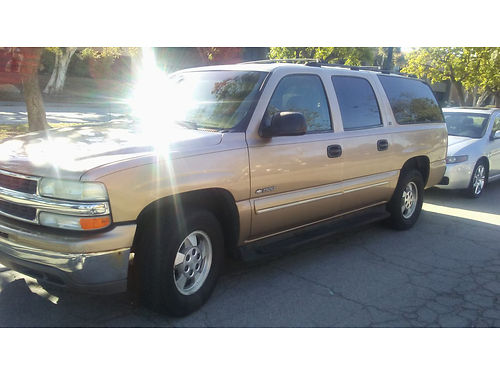 2000 CHEVY SUBURBAN 3rd seat tow pkg rbrds all power runs great 7 pass AC CD 3800 805-70