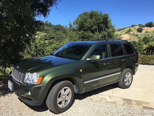 2007 JEEP GRAND CHEROKEE Overland 1 owner 57L 82K mi top of the line loaded must see very w