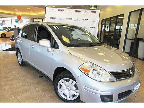 2011 NISSAN VERSA S - Clean carfax with services auto MP3 cd alloys reliable economy carry all