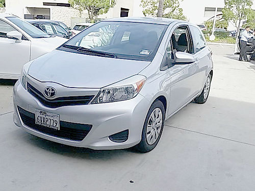 2012 TOYOTA YARIS - decent miles super economy auto mp3 cd pwr opt nice 512378-LX72582A 9