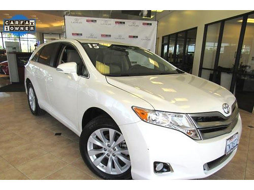 2015 TOYOTA VENZA LE - low miles gorgeous cond auto power opt premium audio work or play-enj