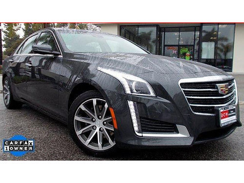 2016 CADILLAC CTS Luxury - Only 7500 miles compare to new-huge savings loaded luxury 107650LS7S