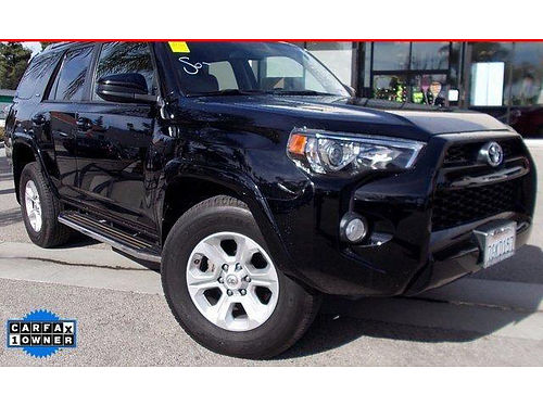 2014 TOYOTA 4RUNNER SR5 4x4 - 1 owner clean carfax fair miles well equipped sharp 191519-LS7S1