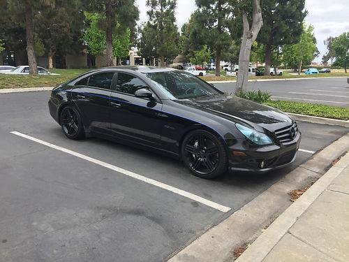 2007 MBZ CL63 AMG auto V8 525 HP dealer maint since new 152K fwy mi Renntech comp susp syst l