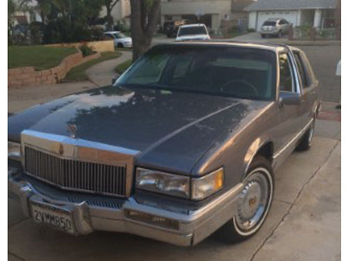 1991 CADILLAC SDV 1 owner 53k miles beautiful cond everything works metalic silver blue gray l