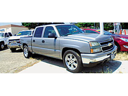 2007 CHEVY 1500 - CREW CAB loaded 4 DVD player Factory 20 wheels low miles 135117 11900 KAR