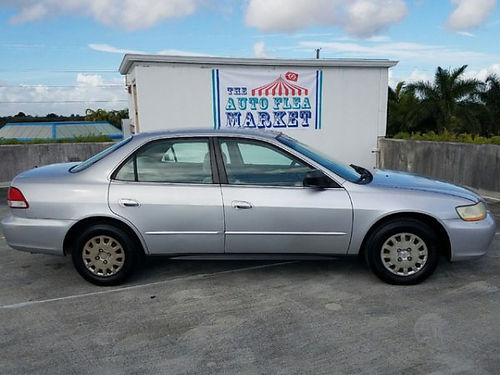 2001 HONDA ACCORD Auto 4cyl gas saver runs great super clean in  out new tires 2950 805-87