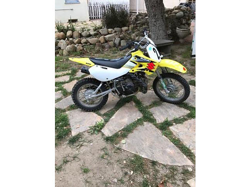 2004 SUZUKI 110 great Motor cross lot of Fox extras hardly ridden great cond 575