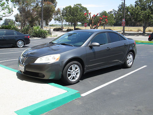 2005 PONTIAC G6 GT Auto 6 cyl all power AC system new CD new tires well maint great cond ni