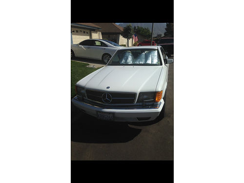 1991 MERCEDES BENZ 560 second Family owned Runs good 164K miles New battery Needs some repairs