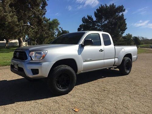 2012 TOYOTA TACOMA ACCESS CAB SR5 923120 79500 mi Lifted new Offroad whls  tires leveling k