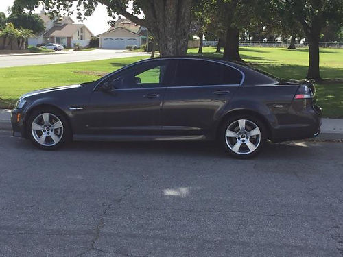2009 PONTIAC G8 GT V8 6 spd auto 49K mi one owner 6 CD all power 4 dr newer tires drives gr