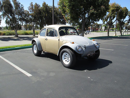 1974 VW BAJA BUG 1800 cc carbed dual port front  rear Nerf bars sunroof smog exempt current