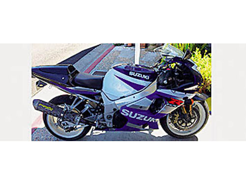 2002 GSXR 1000 - 30K miles new tires Two Brothers Racing exhaust pipe integrated taillight 2nd o