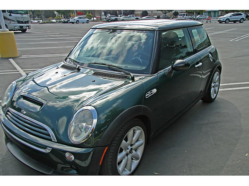 2003 MINI COOPER S Turbo only 62K orig mi 6 spd manual trans mnrf AC pw pdl CC CD very cle
