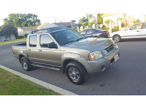 2004 NISSAN FRONTIER CREW CAB 5 spd 6cyl new eng w60K mi wreceipts runs good smogged clean t