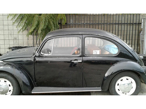 1969 VW BUG 1600 cc solid body No dent Comes with new set of seat covers could use a new coat o