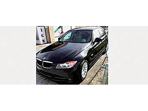 2009 BMW 328i - Black PW PDL AT leather interior runs great 107K miles salvage title 7400 O