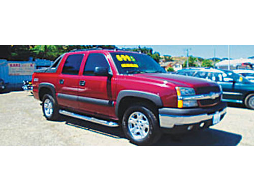 2004 CHEVY AVALANCHE - Z71 loaded heated seats local car leather alloys tow pkg moonroof 14