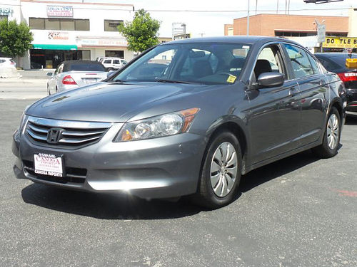 2012 HONDA ACCORD - 24L 4 cyl 64k miles super clean full power air great commuter vehicle su