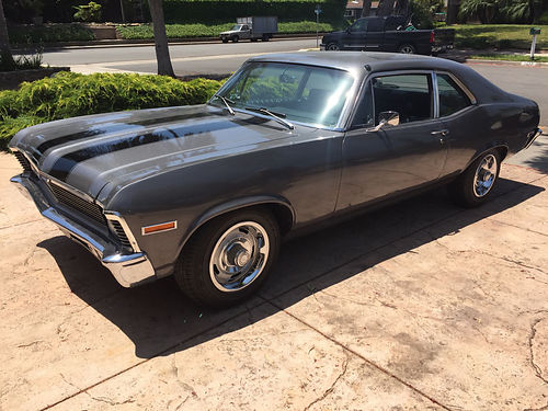 1970 CHEVY NOVA 350 small block automatic interior in great cond Rally whls tires good dual exh