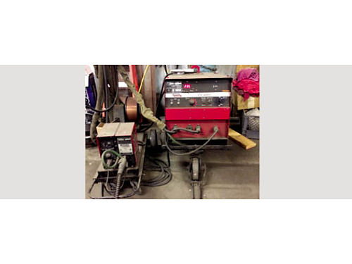 MIG WELDER LINCOLN CV 400I Welding Package NEVER USED LN 7 Wire Feeder included 230460 volts 3