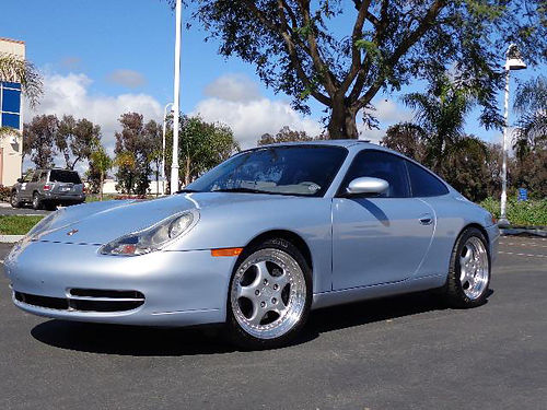 2001 PORSCHE 911 CARRERA 34L 73K orig mi book  records clean Carfax Tiptronic lthr Alpine p