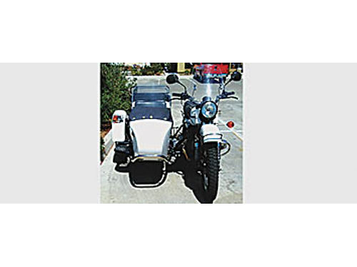 2012 URAL PATROL BIKE - With sidecar Like new Less than 3000 miles 1WD or 2WD 10000 or trade f