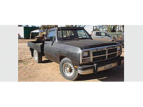 1991 DODGE RAM 250 Cummins turbo diesel 12 valve rebuilt auto trans  rear end 185K miles 4000