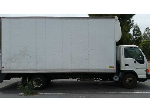 2005 ISUZU NPR HD with 20 higher box auto 53L diesel eng good running cond rear ramp ready f
