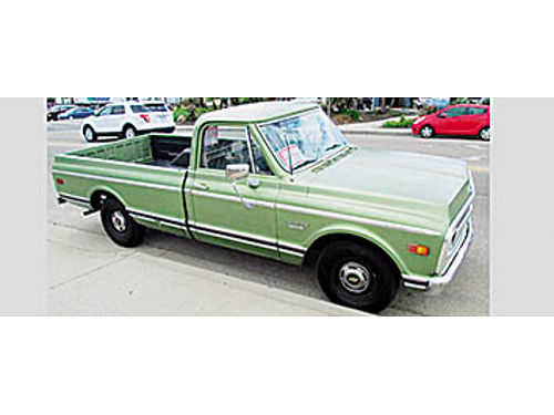 1970 CHEVY C-10 PICKUP - Runs as good as it looks Automatic transmission stock truck 12500 805