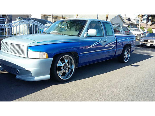 1996 DODGE RAM 1500 EXT CAB All customized V8 everything all power too much to list 3200 obo