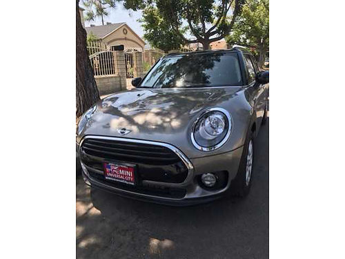 2016 MINI COOPER CLUBMAN 600 miles brand new nice and clean fully loaded gray with black leather