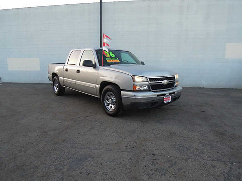 2006 CHEVY SILVERADO 1500 CREW CAB 355965 auto V8 48L all power bedliner tow pkg new tires