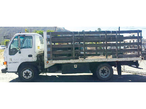 1999 ISUZU NPR Open stakeside bed 4cyl Diesel air cond 7500