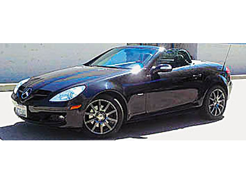 2008 MERCEDES-BENZ 280 SLK - Retractable hardtop Special Edition loaded upgrades V6 AT with padd