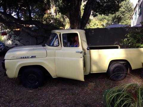 1958 FORD F100 3 spd manual 6 cyl 68K miles orig cond body great new upholstery needs a littl