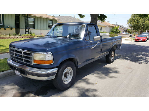 1990 FORD F250 auto 73L DIESEL new tires well maint longbed new front seat upholstery radio