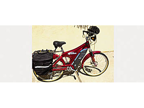 ELECTRIC TOURING BICYCLE - Own a Lee Iococca Special Edition model Mint condition only 4 hours of