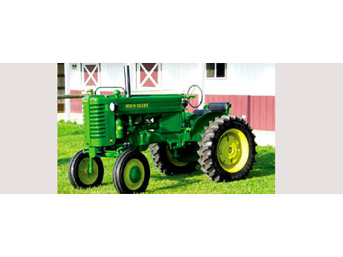 WANTED ANTIQUE FARM TRACTOR - John Deere 40 or M or Electric start H working condition Santa Barb