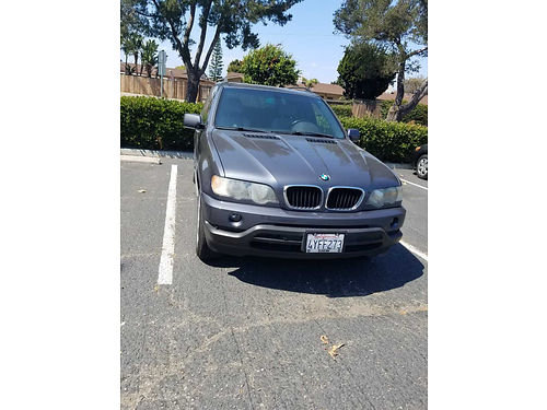 2002 BMW X5 auto V6 all pwr lthr snrf AC CD used eng with 80K mi wreceipts runs great new