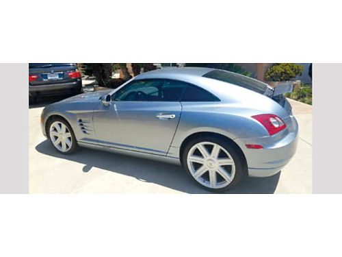 2004 CHRYSLER CROSSFIRE LTD Only made 4 yrs - MBZ eng  trans auto V6 all pwr AC CD lthr pre